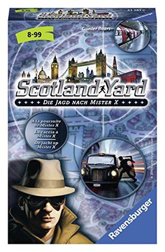 Scotland Yard: Die Jagd nach Mister X Scotland Yard Brettspiel