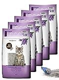 5x JK CAT LAVENDER Katzenstreu SPARPAKET klumpend Katzen Einstreu Klumpstreu