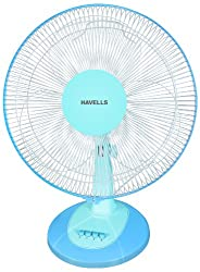 Havells Swing LX 400mm Table Fan (Blue)