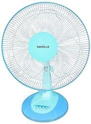 Havells Swing LX 400mm Table Fan (Blue)