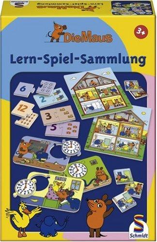 Schmidt Spiele - Die Maus, Lern-Spiel Sammlung