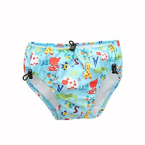 Decdeal Baby Schwimmwindel Swim Diaper Schwimmhose mit Verstellbarem Schnürverschluss