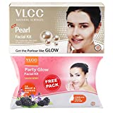 #8: VLCC Pearl Facial Kit, 60g with Free Party Glow Facial Kit, 60g
