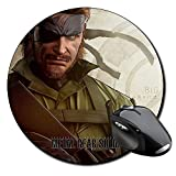 Metal Gear Solid B Mauspad Round Mousepad PC