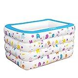 Tianyi Yugang PVC-Isolierung Erwachsene Tragbare Badewanne für Kinder Verdickte aufblasbare unabhängige Tragbare mit Komfortablen Hochwertigen Weichen Sicherheit Badewanne (größe : 115 * 85 * 70cm)