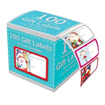 Tallon Christmas Collection Holographic Adhesive Label (Lot de 100)