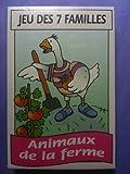 """Jeu de 7 familles """"Animaux de la ferme"""" (42 cartes)"""