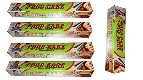 FOOD CARE ALUMINIUM FOIL 11 MTR X 5PCS