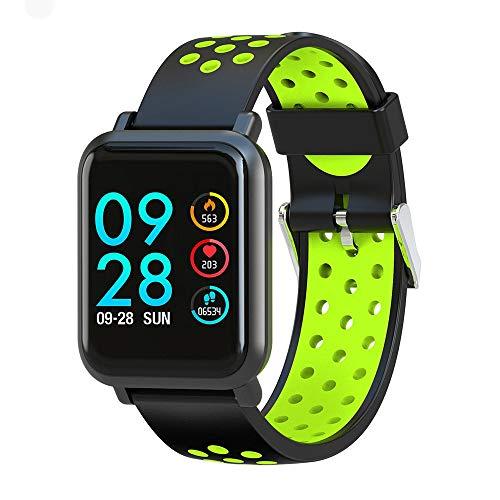 WCPZJS Smartwatch S9 2.5D Bildschirm Gorilla Glas Blutsauerstoffsättigung Blutdruck Edge IP68 Wasserdichte Aktivität Tracker Smart Watch - Blutdruck-balance