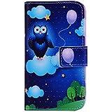 Per LG L Fino (D290N / D295) , ivencase Balloon Modello [Magnetico] PU Pelle Portafoglio Flip Stand Closure Protectiva Custodia Case Cover Per LG L Fino (D290N / D295)
