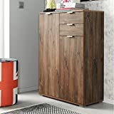 Kommode Sideboard Highboard Anrichte Standschrank P82 Typ 150 stirling eiche