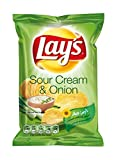 Lay's Chips Sour Cream and Onion 80x27,5g
