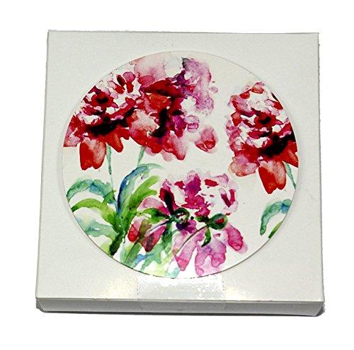 Bee Beautiful 50Floral Papier Untersetzer und Schaumstoff Sticky Pads - Bee Floral