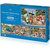 Gibsons Mitchell's Mobile Shop Jigsaw Puzzle, 4x500 piece