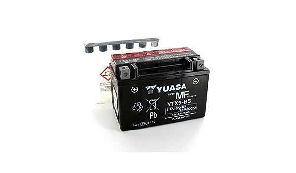 Yuasa Lead Battery Yuasa Ytx9 Bs 12v 8 4ah Motorcycle Ytx9 Bs Or Business Industry Science