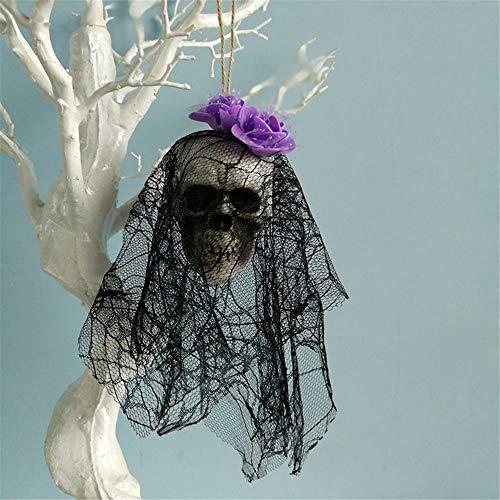 VICKY-HOHO Halloween hängen Deko Piraten Leiche Schädel Spukhaus Bar Home Garden - Läuft Kostüm Pirat