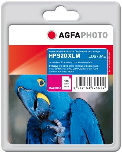 AgfaPhoto APHP920MXL Tinte für HP OJ6000, 11 ml, magenta