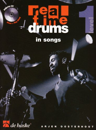 Real Time Drums in Songs, m. Audio-CD