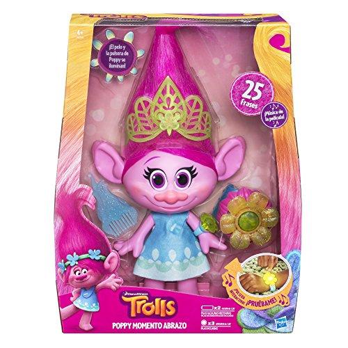 Trolls - Figura Poppy Momento Abrazo (Hasbro B6568105)