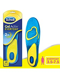 Scholl Women's Gel Activ Everyday Insoles, One Size