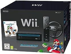 Nintendo Wii Mario Kart Pack Black