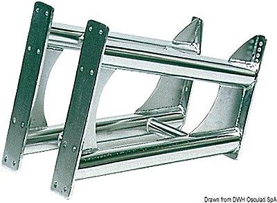 Supporto motore inox universale English: S.S outboard bracket