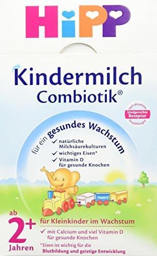 Preisvergleich Produktbild HiPP Kindermilch ComBiotik 2+ Jahr,  4er Pack (4 x 600 g)