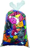deqoo Luftballon Fehldrucke Beutel bunt gemischt mit mindestens 500 Stück 25-40cm Durchmesser Ideal für Hochzeiten, Abifeiern, Firmenanlässe und Geburtstage