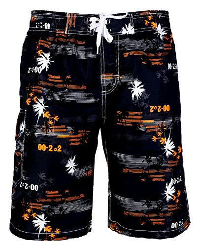 aptro-mens-quick-dry-board-shorts-printed-palm-beach-swim-wear-1526-orange-uk-l