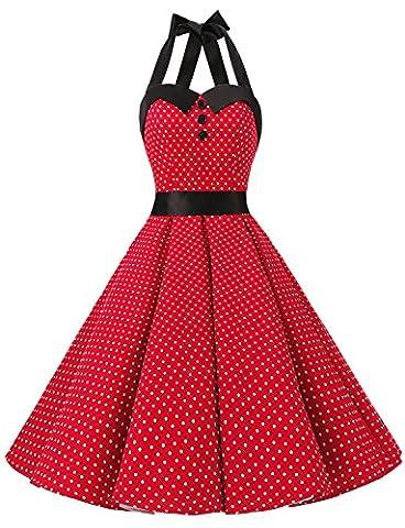 Robe Guinguette - Dressystar DS1957 Robe de bal Polka Vintage