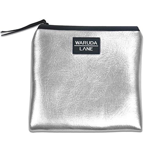 WARUDA LANE Damen Handtaschen Mädchen Soft Premium Leder & Nylon Bowling Bag Hobos Hochwertige Leichte Einkaufstasche Einkaufstaschen Wasserdichte Top-Griff Taschen Strandtasche (Klassische Top Umhängetasche Zip)