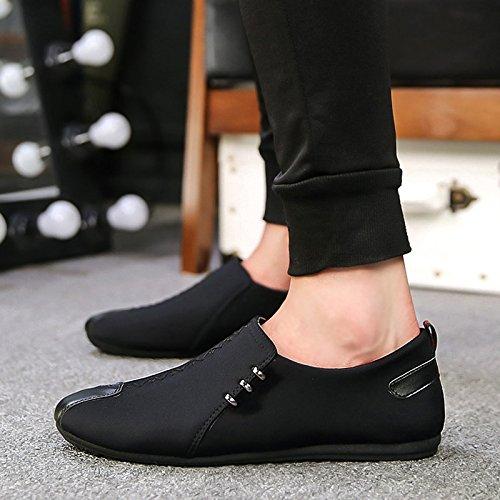 Les Pois, Les Chaussures, Les Chaussures, Les Chaussures De Paresseux Black -B