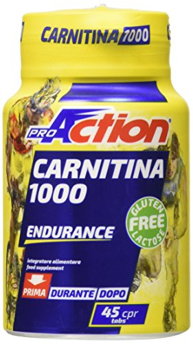 Proaction carnitina 1000, 45 cpr