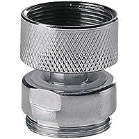 Adaptador de metal giratoria para el agua del grifo de la cocina grifo aireador m22x22mm hembra x macho