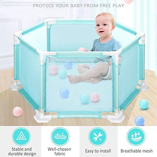 be8eff041e32 Parc Bébé Pliable,barrière de sécurité enfant,Jouets hexagonaux Playard  Jouets Playard, lavable