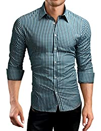 Grin&Bear Slim Fit Shirt Hemd Herrenhemd kariert, SH571