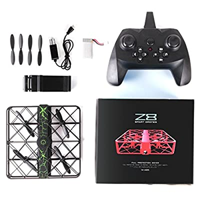 Z8 RC Mini Drone, Helicopter RC Quadcopter [0.3MP Wifi FPV Drone] Wide Angle 2.4G 6AXIS Altitude Hold UFO Helicopter Hover Aircraft [Easy to Fly for Beginner] Gift For Kids/ Adult from Mounter