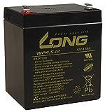 Bleiakku KUNG LONG WP4,5-12, 12V/4,5Ah, 90x70x107mm, 1,62kg