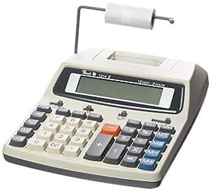 Calculatrice comptable Peach 12-chiffres PR670, secteur ou piles