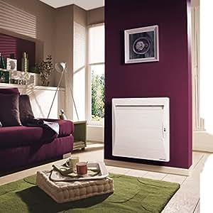 radiateur électrique - atlantic shangai ecodomo - 1500 watts - blanc