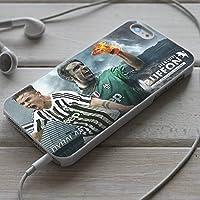 Telefonkasten Juventus Paulo Dybala - Buffon Hülle Fußball Case Handyhülle Abdeckung Etui Vandot Schutzhülle iPhone X, 8, 8+ , 7, 7+, 6S, 6, 6S+, 6+, 5, 5S, 4S, 4