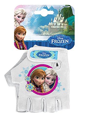 Stamp-Frozen-guantes-de-bicicleta-para-nia-color-blanco