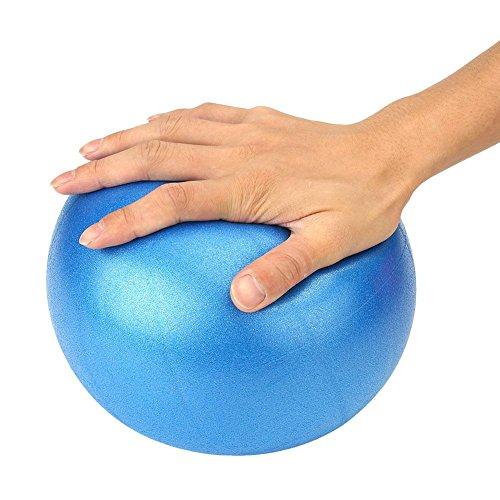 �bung Ball Softball für Fitnessgeräte Übung Balance Ball Pods Pilates mit Pumpe 1PCS (Kinder-yoga-ball)