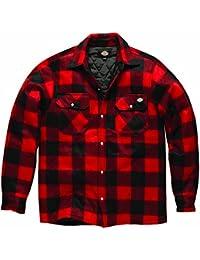 Dickies SH5000Portland Hemd-Arbeit Thermo Gepolsterte rot Größe XL, normal