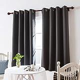 Best Home Moda isolante termico tende oscuranti - Deconovo Tende Oscuranti Termiche con Occhielli Decorative per Review