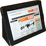 Protective Case / Wallet for iPad 2, 3 & 4 with Flipstand PU Leather (Black)