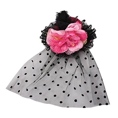 r Mini Red Top Hat-Haar-Klipp-Kugel-Dekoration ()