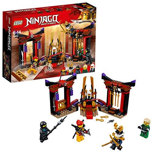 LEGO 70651 Duell im Thronsaal Bunt, Einheitsgröße (Kinder Der Drachen Ninja Kostüm)