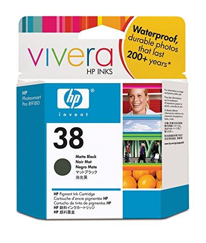 HP 38 Mattschwarz Original Druckerpatrone für HP Photosmart - Photosmart B9180 Hp