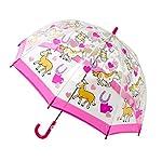 Bugzz Kids Stuff Childrens PVC Umbrella - Pony and Hearts